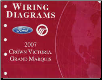 2007 Ford  Crown Victoria & Mercury Grand Marquis - Wiring Diagrams (SKU: FCS1211807)