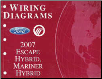 2007 Ford Escape Hybrid & Mercury Mariner Hybrid - Wiring Diagrams (SKU: FCS1432807)