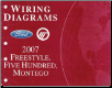 2007 Ford Freestyle, Five Hundred & Mercury Montego - Wiring Diagrams (SKU: FCS1395007)