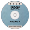 2008 Chrysler Pacifica (CS) Service Manual ON CD (SKU: 8127008050CD)