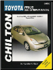 2001 - 2008 Toyota Prius Hybrid, Chilton's Total Car Care Manual (SKU: 1563926911)