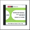2009 Hino Service Manual, Engines & Chassis All Models CD-ROM (SKU: HINO-2009-CD)