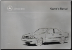 1999 C230 Kompressor, C28, C43 AMG Mercedes-Benz Owner's Manual (SKU: 2025847396)