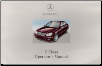 2002 Mercedes C-Class: C240, C320, C32 AMG Owner's Manual (SKU: 2035842096)