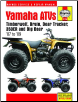 1987 - 2009 Yamaha Timberwolf, Bear Tracker, Bruin 250, Big Bear 250, 350ER, Big Bear 350 & Big Bear 400 Haynes Super ATV Owners Workshop Manual (SKU: 1620921138)