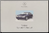 2000 Mercedes-Benz S-Class Factory Owner's Manual (SKU: 2205845782)