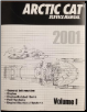2001 Arctic Cat 120 cc, Twin F/C, 500/580/600/800 cc Twin, 550 cc, Triple Snowmobile Repair Manual - 2 Volume Set (SKU: 22563347-2256364)