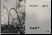 2015 Chevrolet Camaro Owner's Manual portfolio (SKU: 23259397)