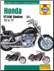 1985 - 2007 Honda Shadow VT1100 Haynes Repair Manual (SKU: 1620921464)