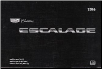2016 Cadillac Escalade / Escalade ESV Factory Owner's Manual (SKU: 23133525B)