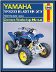 1988 - 2006 Yamaha Blaster YFS200 Haynes ATV Owners Workshop Manual (SKU: 1563926881)