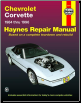 1984 - 1996 Chevrolet Corvette Haynes Repair Manual (SKU: 1563922266)