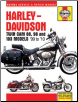 1999 - 2010 Harley-Davidson Twin Cam 88, 96 and 103 Models Haynes Motorcycle Repair Manual (SKU: 162092109X)