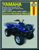 1993 - 2005 Yamaha Kodiak, Grizzly Haynes ATV Owners Workshop Manual (SKU: 1563925672)
