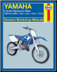 1986 - 2006 Yamaha 2-Stroke Motocross YZ80, YZ85, YZ125 & YZ250 Haynes Motorcycle Owners Workshop Manual (SKU: 1563926628)