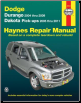 2004 - 2009 Dodge Durango & 2005 - 2011 Dodge Dakota Pick-ups Haynes Repair Manual (SKU: 1563929562)