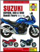 1996 - 2006 Suzuki GFS600, 650 & 1200 Bandit Fours Haynes Repair Manual (SKU: 1844255964)