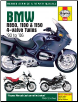 1993 - 2006 BMW R850, 1100 & 1150 4-Valve Twins Haynes Service & Repair Manual (SKU: 9781785212826)