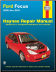 2000 - 2011 Ford Focus Haynes Repair Manual (SKU: 162092000X)