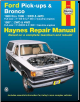 1980 - 1997 Ford Pick-Ups & Bronco Haynes Automotive Repair Manual (SKU: 1620920107)