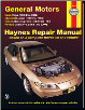 1988 - 2007 Buick Regal, Chevrolet Lumina, Olds Cutlass Supreme and Pontiac Grand Prix Haynes Repair Manual (SKU: 1563927268)