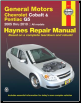 2005 - 10 Chevrolet Cobalt, 2005 - 06 Pursuit & 2007 - 09 Pontiac G5 Haynes Repair Manual (SKU: 1563929740)