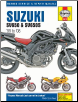1999 - 2008 Suzuki SV650, SV650S & SV650SA Haynes Motorcycle Repair Manual (SKU: 9781785210419)