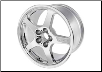 "ROUSH 2005 - 2012 Mustang  18"" x 10"" Chrome Cast Wheel  (w/ optional Tire) (SKU: 401305)"