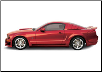 ROUSH 2005 - 2009 Ford Mustang Complete Body Kit (SKU: 401421)