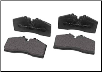 ROUSH 2005 - 2010 Ford Mustang Brake Pads, Front with ROUSH 4 Piston Calipers (SKU: 401471)