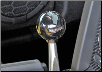 ROUSH 2005 - 2010 Ford Mustang Shift Knob, Retro Ball, 5 Speed (4.0L/4.6L V8) (SKU: 401584)