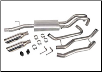 ROUSH 2005 - 2008 Ford F-150 Dual Rear Exit Exhaust Kit (Off Road) (SKU: 401593)