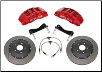 "ROUSH 2005 - 2012 Ford Mustang Trak Pak Front Brake Kit, with 6 Piston Caliper & 14"" Rotors (SKU: 403144)"