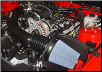 ROUSHcharger 2005 - 2009 Ford Mustang GT, Cold Air Intake for M90 Supercharger, (4.6L V8) (SKU: 403913)