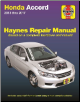 2013 - 2017 Honda Accord Haynes Repair Manual (SKU: 9781620922583)