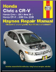 2001 - 2010 Honda Civic and CR-V Haynes Repair Manual (SKU: 1563928493)