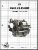 Mack E9 V-8 (998) Engine Factory Overhaul Procedures Manual (SKU: 5102)