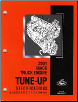 Mack Truck 2001 E-Tech Engine Tune-Up Specifications (SKU: 5313)