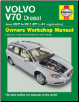2007 - 2012 Volvo V70 Wagon / Estate with Diesel Engines, Haynes Owners Workshop Manual (SKU: 9780857335579)