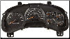2002 - 2007 Chevrolet Trailblazer & 02-06 Trailblazer EXT Instrument Cluster Repair w/o DIC, w Tach (SKU: 15069274)