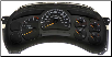 2003 - 2005 GMC Chevy Silverado 3500, Sierra 2500 HD & 3500 Instrument Cluster Repair (V8/8.1L, Manual Trans) (SKU: 15224146)