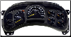 2003 - 2005 GMC Chevy Avalanche Sierra Silverado Suburban Instrument Cluster Repair (Manual Trans) (SKU: 15224145)
