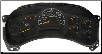 2003 - 2005 GMC Chevy Silverado 3500, Sierra 2500 HD & 3500 Instrument Cluster (V8/6.6L, Manual Trans) (SKU: 15224147)