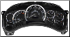 2003 - 2005 Cadillact Escalade, ESV & EXT Luxury Edition Instrument Cluster (SKU: 15224133)