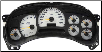 2003 - 2005 Chevrolet Silverado SS White Gauge Instrument Cluster Repair (Sport Package) (SKU: 15224137)