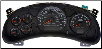 2002 2005 Chevrolet Monte Carlo, Impala Except Police Instrument Cluster Repair w/Tach, 6 Gauge, V6 3.4/3.8L (SKU: 10306211)