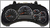 2003 - 2005 GMC Envoy Instrument Cluster Repair w/ Driver Info Center (SKU: 10356459)