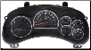 2003 - 2004 GM, Chevrolet Envoy Instrument Cluster Repair without Driver Info Center L6/4.2L, V8/5.3L (SKU: 15115881)