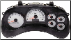2005 Chevrolet Trailblazer &Trailblazer EXT Instrument Cluster Repair w/o DIC, w Tach, w White Applique (SKU: 10356462)