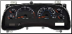2001 - 2002 Dodge Ram 5.9L Instrument Cluster with Tach (Gas) (SKU: 56045780AB)